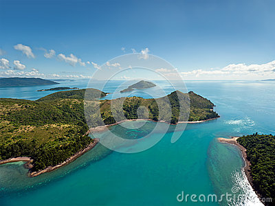 Острова Whitsunday Австралии