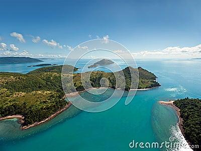 Острова Whitsunday Австралии