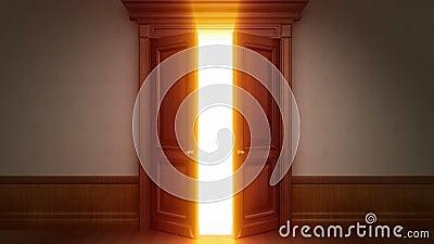Отверстие двери с ключом chroma иллюстрация штока