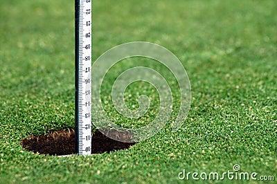 Отверстие гольфа