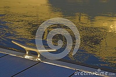 отражение стыковки зажима