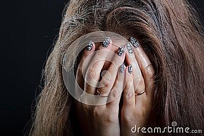 Отчаяние девушки фото