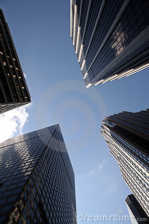 офис manhattan зданий