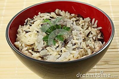 Одичалый рис