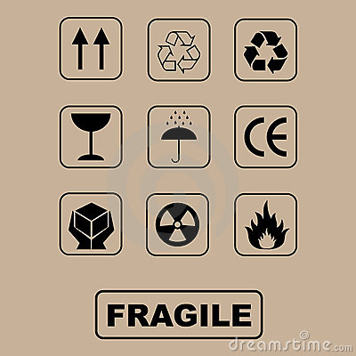 пакуя установленные символы