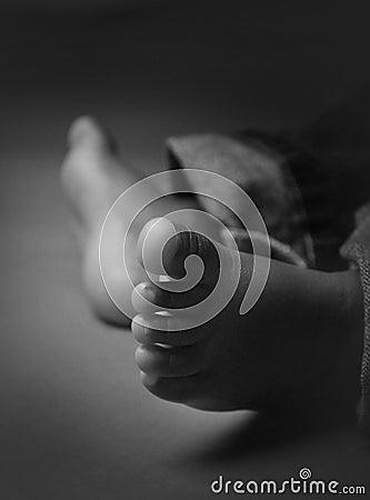 пальцы ноги