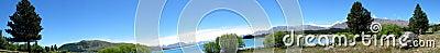 панорама горы озера