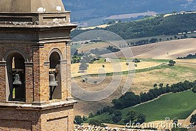 Панорама от Arcevia