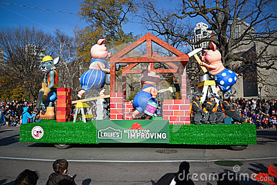 Парад Santa Claus Торонто 108th Редакционное Стоковое Фото