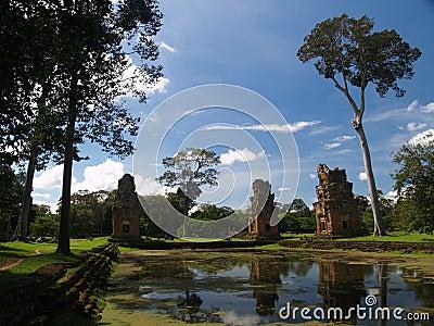 парк angkor археологический