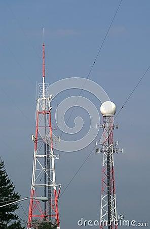 передатчики башни