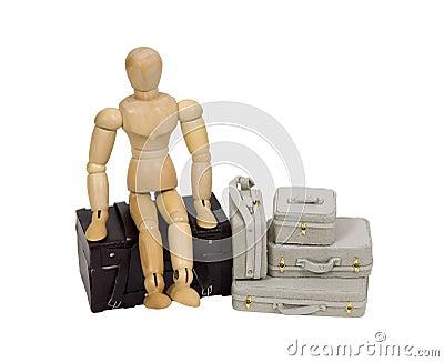 перемещать чемоданов