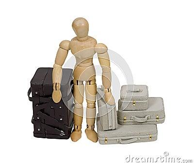 перемещение чемоданов