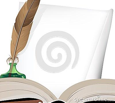 Перо и чернильница  читать сказку онлайн  Андерсен Г Х