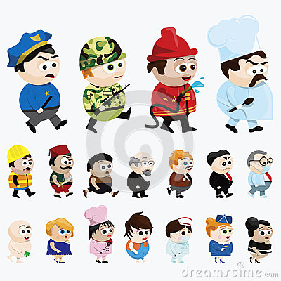 Персонажи из мультфильма