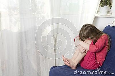 печаль s ребенка