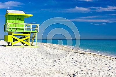 пляж miami
