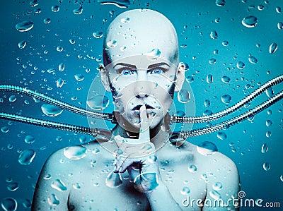 Подводный андроид
