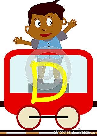 поезд серии малышей d