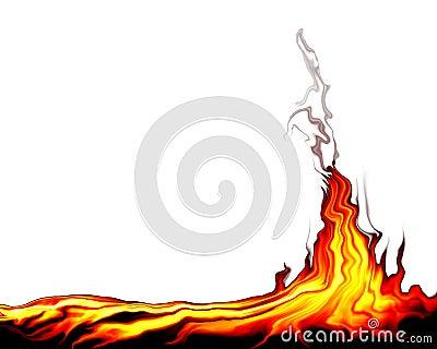 пожар одичалый
