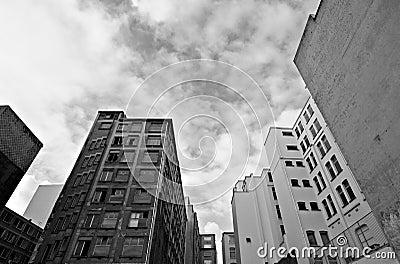 покинутые здания