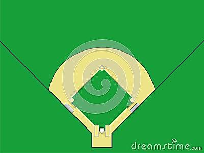 Поле бейсбола