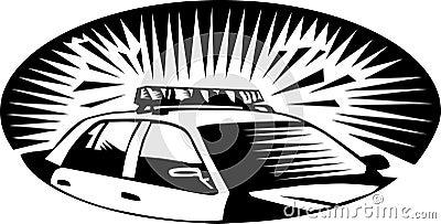 полиции автомобиля
