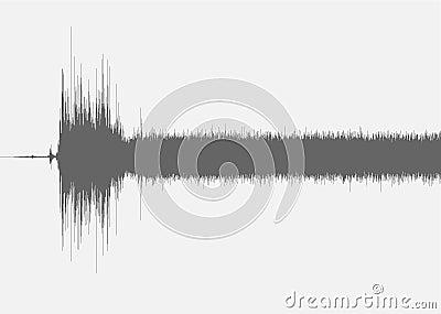 Полное длинное акций звуковой эффект