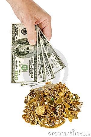 Получите наличными на золото 1