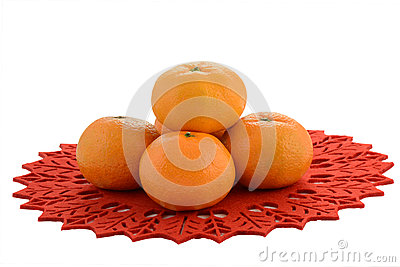 Померанцы мандарина