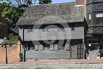 Пол Revere дом Редакционное Фото
