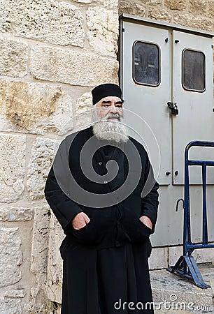 Правоверный священник Редакционное Стоковое Изображение