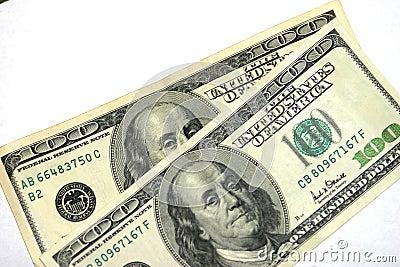 представляет счет доллар 100 одно 2