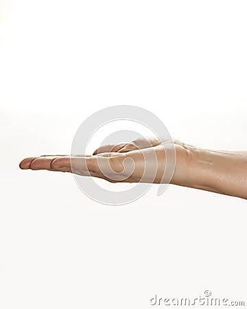 предмет удерживания руки невиденный