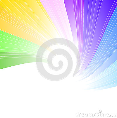 Предпосылка спектра радуги