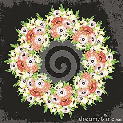 Предпосылка цветка