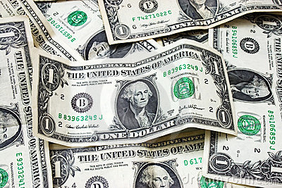 представляет счет доллар мы
