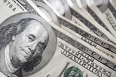 представляет счет доллар 100 одно