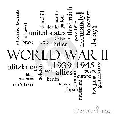 слова Второй Мировой Войны