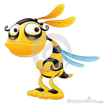 пчела смешная