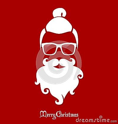 行家圣诞老人,党,贺卡