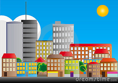 район города