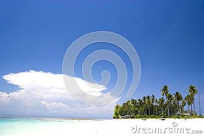 рай острова тропический