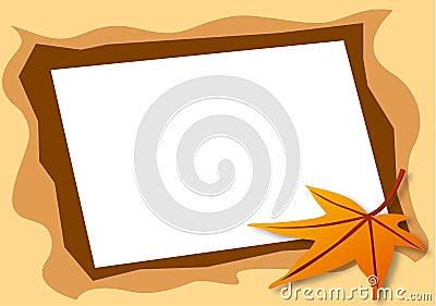 рамка осени любит фото