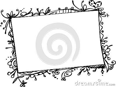 рамки doodle