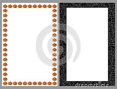 рамки halloween границ
