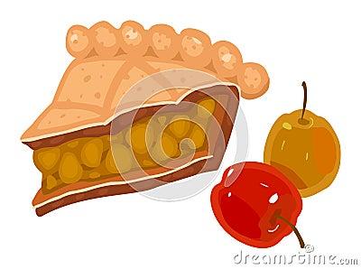 расстегай яблока