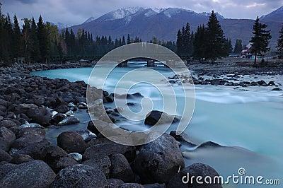 река kanas