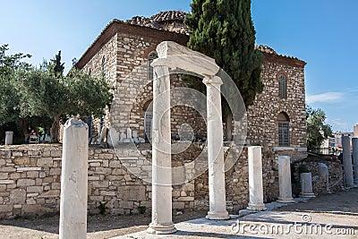 Римский Agora Афиныы