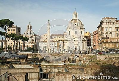 Рим Редакционное Фотография